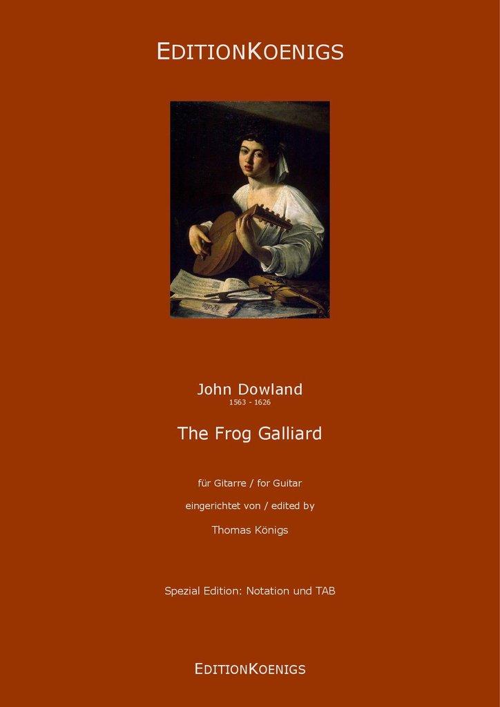 john dowland frog galliard pdf